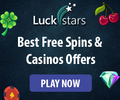 Get up to £500 Free Match Bonus with Luck Stars - No Deposit Required