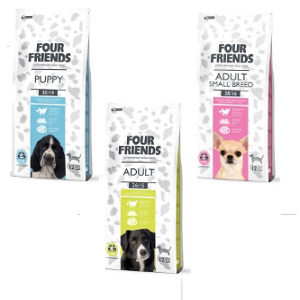 Free Sample of Four Friends Pet Food