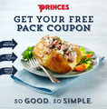 Free pack of Princes Tuna Fillers