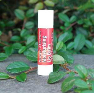 Free Strawberry Lip Balm