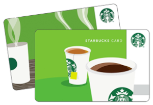 Free £3 Starbucks Gift Card