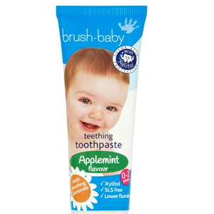 Free sample of Brush Baby Teething Toothpaste