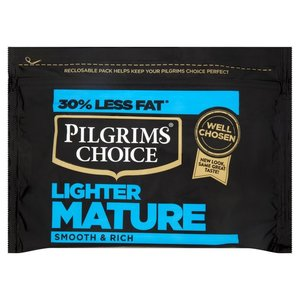 Free Pilgrims Choice Lighter Mature Cheese