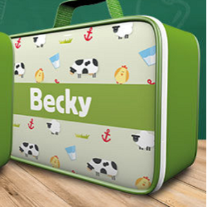 Free Personalised Lunch Bag