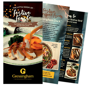 Free Gourmet Cook Book Gressingham Duck Recipes