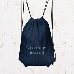 Free personalized drawstring bag with custom text