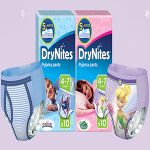 FREE Drynites Kids Diapers