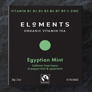 Free sample of Eloments Organic Vitamin tea