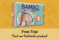 Free sample of Bambo Nature Nappies