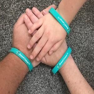 Free Bowel Cancer UK Wristband