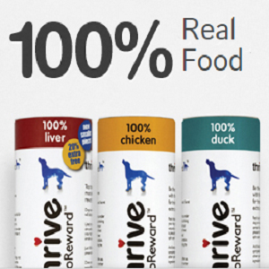 Free Sample of THRIVE Pet Food