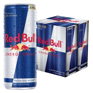 Free Pack of Red Bull Energy Drinks