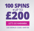 Play Karamba Shoot4Spins and get free spins